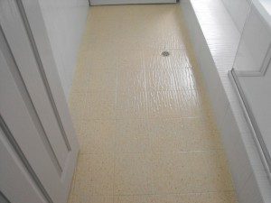 Bathroom Floor Tile Resurfacing