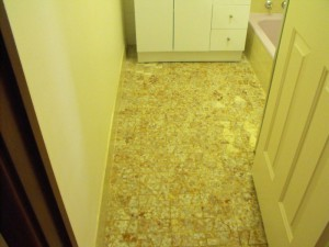 Ceramic Tile Resurfacing Before